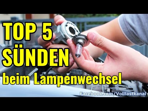 top-5-sÜnden-beim-lampenwechsel---halogen-/-top-5-mistakes-changing-a-headlight-bulb