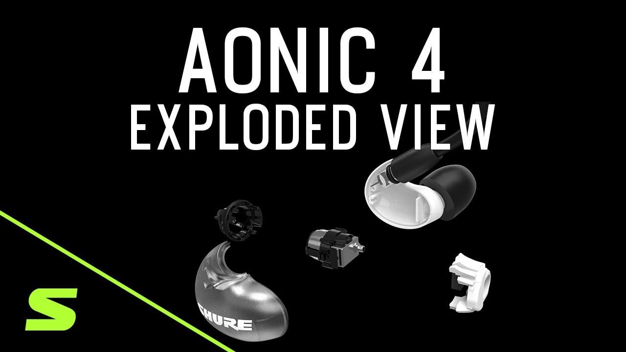 AONIC 4 // Sound Isolating Earphones (Gray + Black) video thumbnail