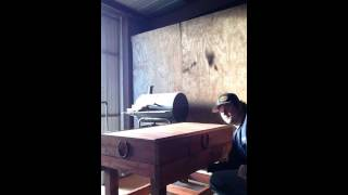 Hidden Shooting Bench
