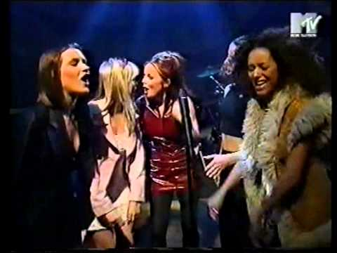 Spice Girls - Do You Think About Me Medley -  Hanging Out (17.04.96)