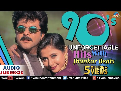 90s Unforgettable Hits  Jhankar Beats  Evergreen Romantic Love Sgs  JUKEBOX  90s Hindi Sgs