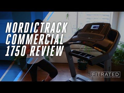 NordicTrack Commercial 1750 Treadmill Review - YouTube