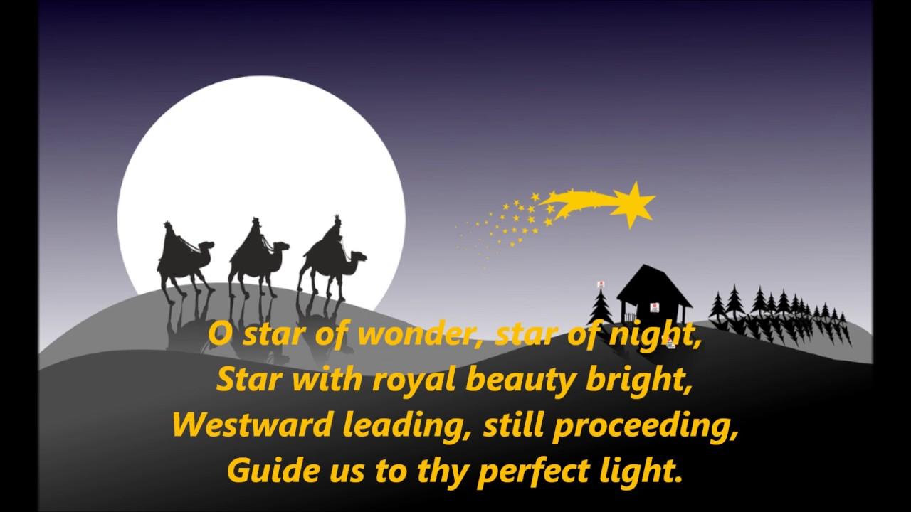 We Three Kings 3 kings words lyrics best CHRISTMAS top popular favorite trending sing along ...