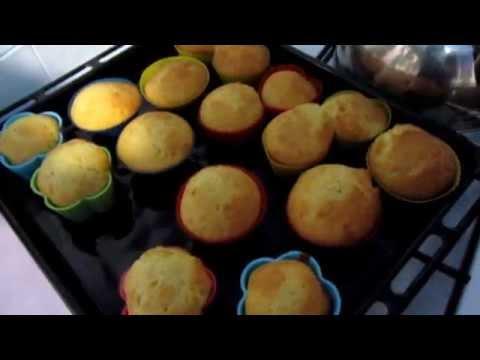 Как приготовить Видео-рецепт Кексы в духовке