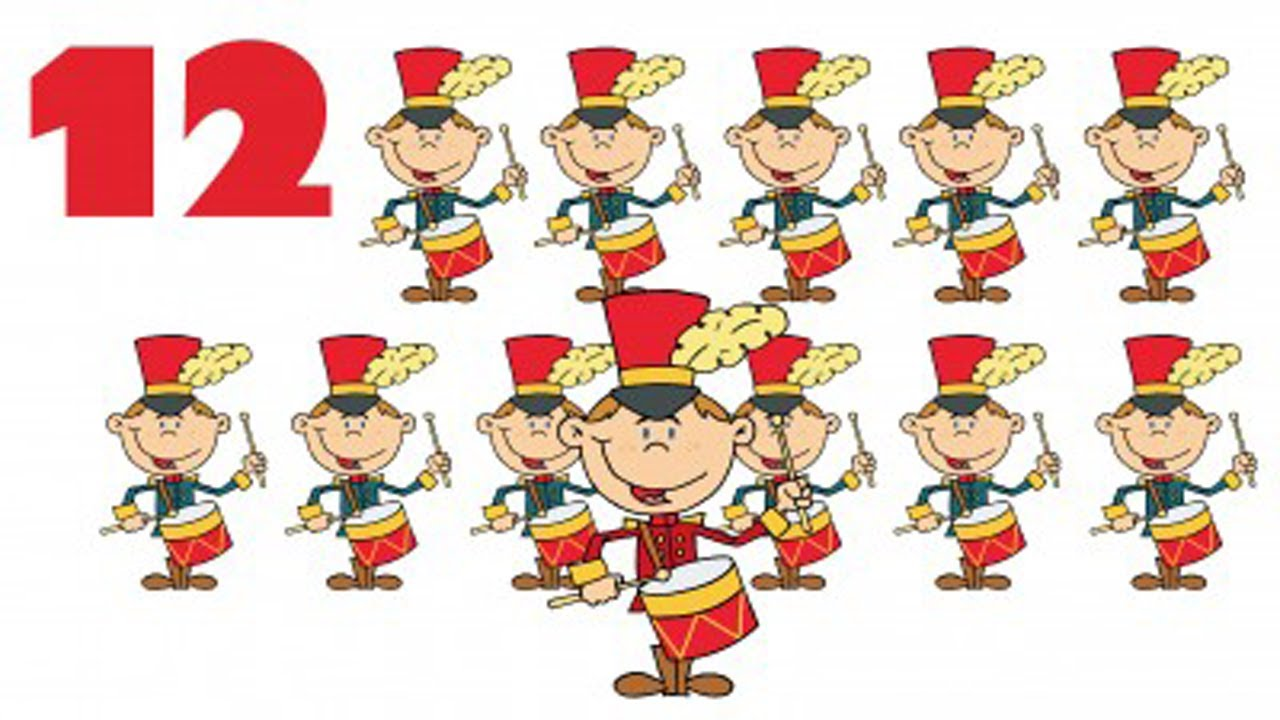 christmas songs for children 12 days of christmas kids songs christmas carols for kids youtube - On The 12th Day Of Christmas