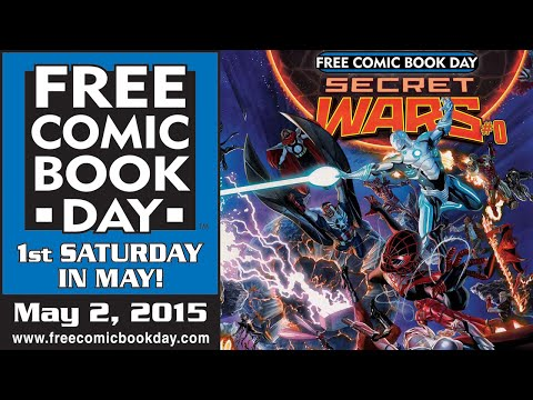 Unboxing Free Comic Book Day 2015 at Stadium Comics - See all the FREE books here! FCBD