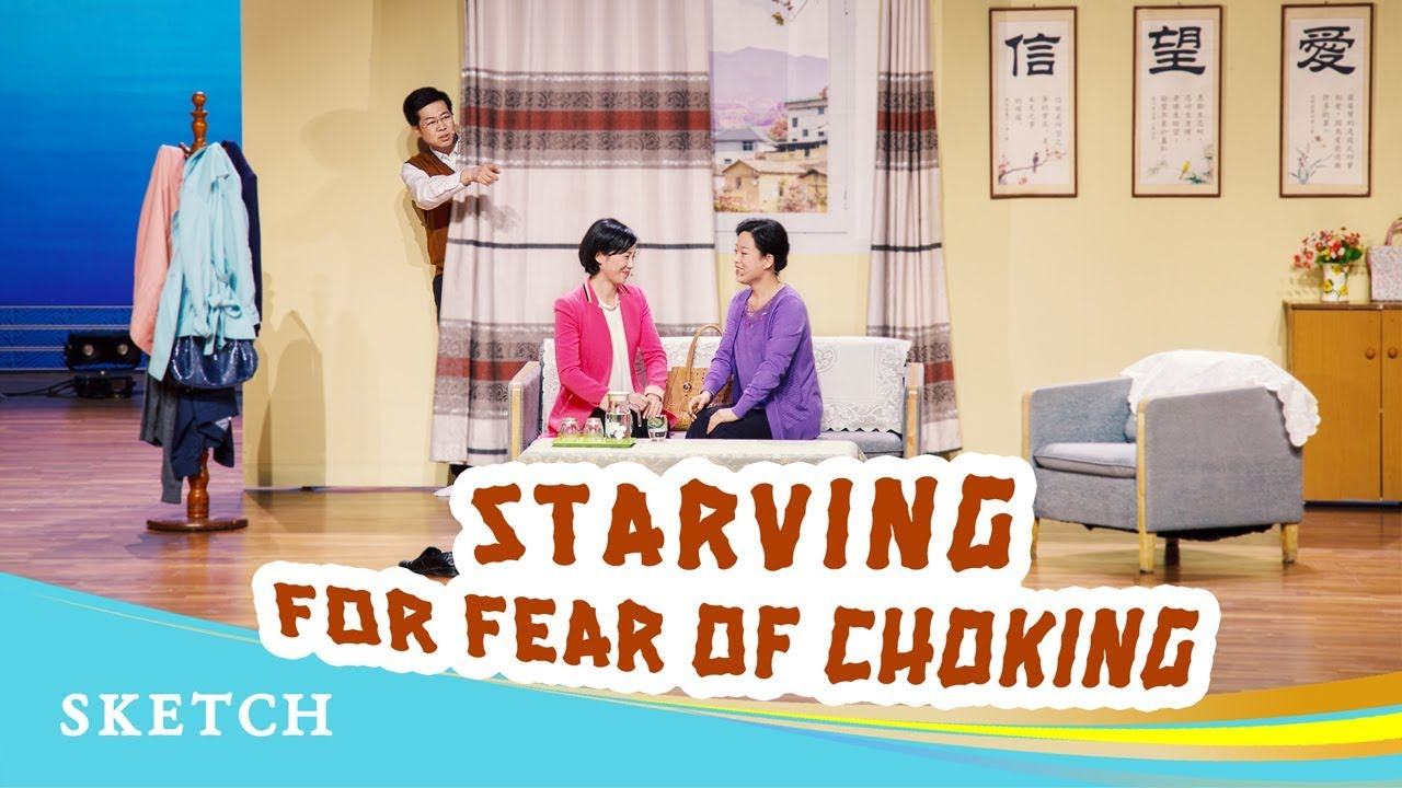 "English Christian Skit ""Starving for Fear of Choking"""