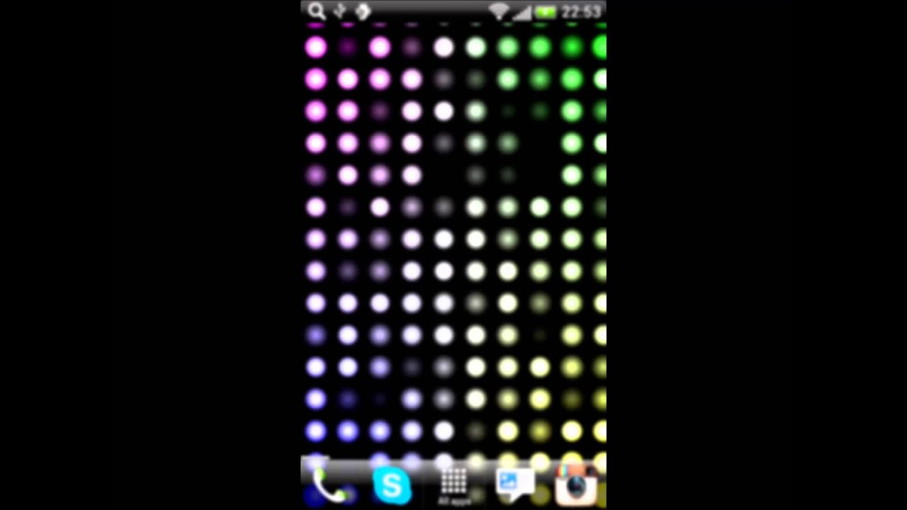 Led Lights Live Wallpaper - YouTube for Led Lighting Wallpaper  186ref