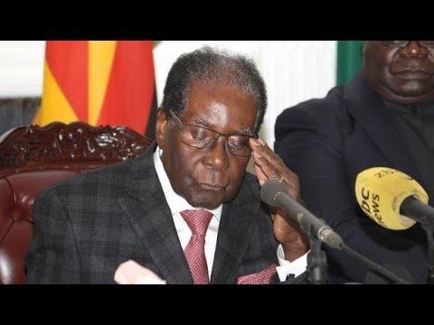 Mugabe's Last Speech as President of Zimbabwe