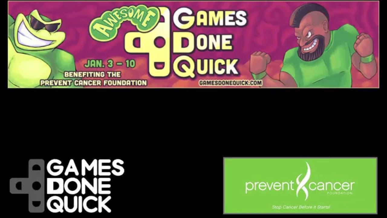 Awesome Games Done Quick 2016 Unofficial Trailer Youtube