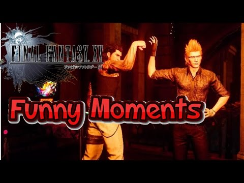 Final Fantasy 15 Funny Moments Montage Compilation