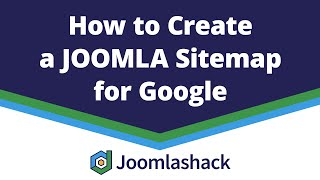 how to Create a Joomla Sitemap for Google