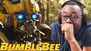 BUMBLEBEE 2018 New Trailer Reaction & Thoughts (Black Nerd)