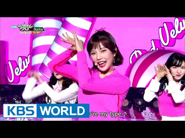 Red Velvet - Rookie [Music Bank HOT Stage / 2017.02.24]