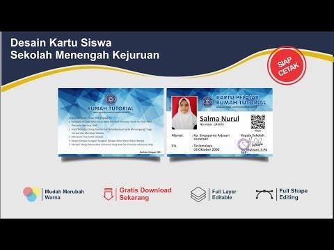 Membuat ID Card/Kartu Member/Name Tag Menggunakan Lembaran Kertas PVC ID Card | Awet & Tahan Lama.