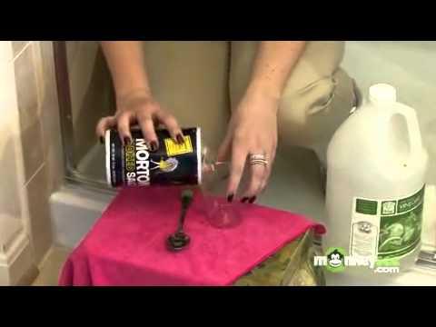 Bathroom Cleaning - Soap Scum