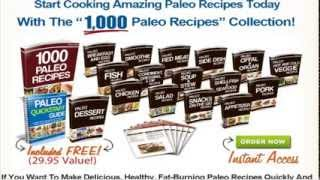 1000 Paleo Recipes pertinently Review| Get a Package of 14 High Quality Bonuses