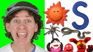 Letter S | Today's Letter Song with Matt and Friends | Preschool, Kindergarten, Learn English