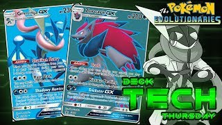 Greninja GX/ Zoroark GX Pokemon TCG Standard Deck Profile! | Deck Tech Thursday #97