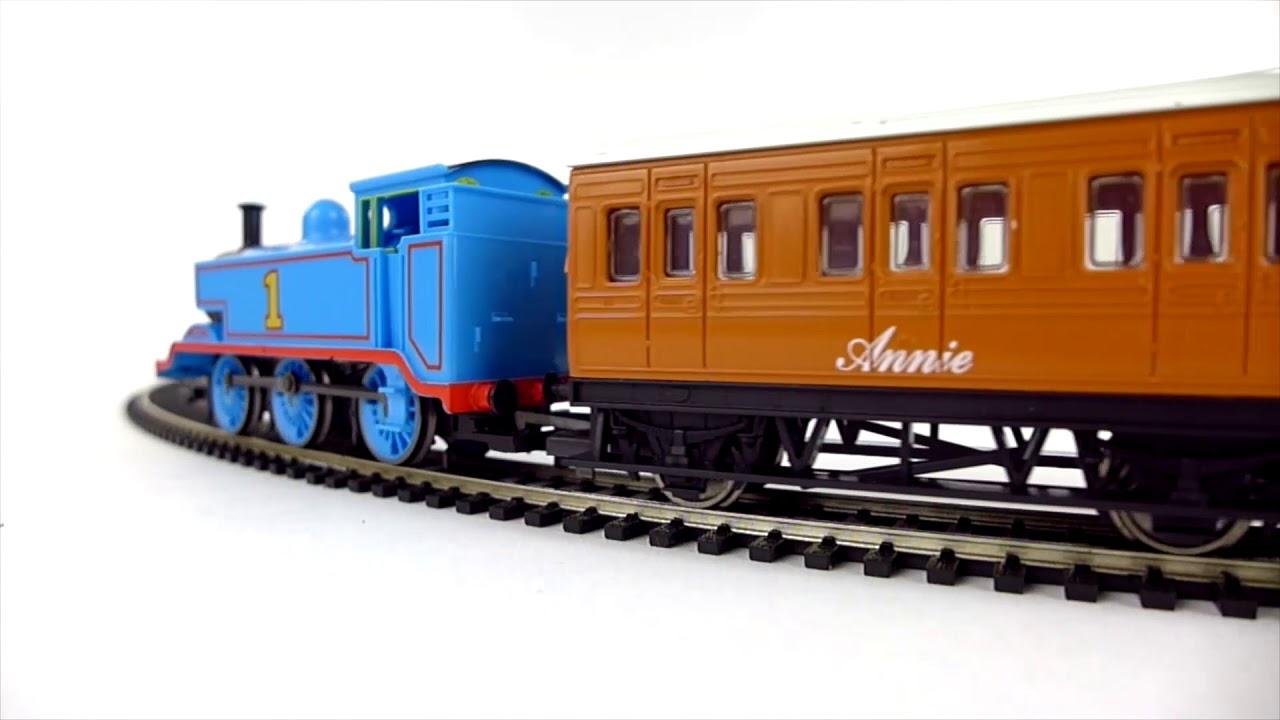 36dc5fca9ea Hornby Thomas the Tank Engine Train Set R9283 - YouTube