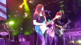 George Thorogood with special guest - daughter Rio Thorogood
