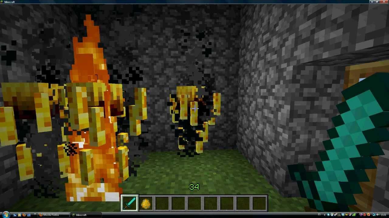 Minecraft Tutorial Blaze Y Vara De Blaze YouTube
