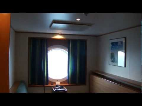 "Cabin Tour! Silja Line Cruiseferry, M/S Galaxy, tour in an ""A-class"" cabin."