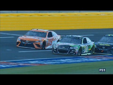 Monster Energy NASCAR Cup Series 2017. Monster Energy Open. Battle for Win