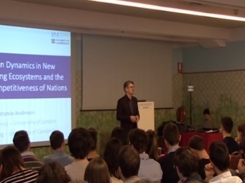 Innovation and the competitiveness of nations (Antonio Andreoni)
