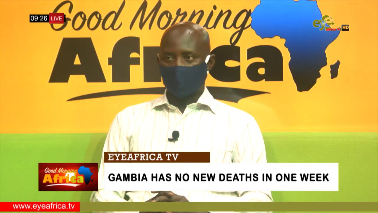 Download GAMBIA HAS NO NEW DEATHS IN ONE WEEK: EYEAFRICA TV