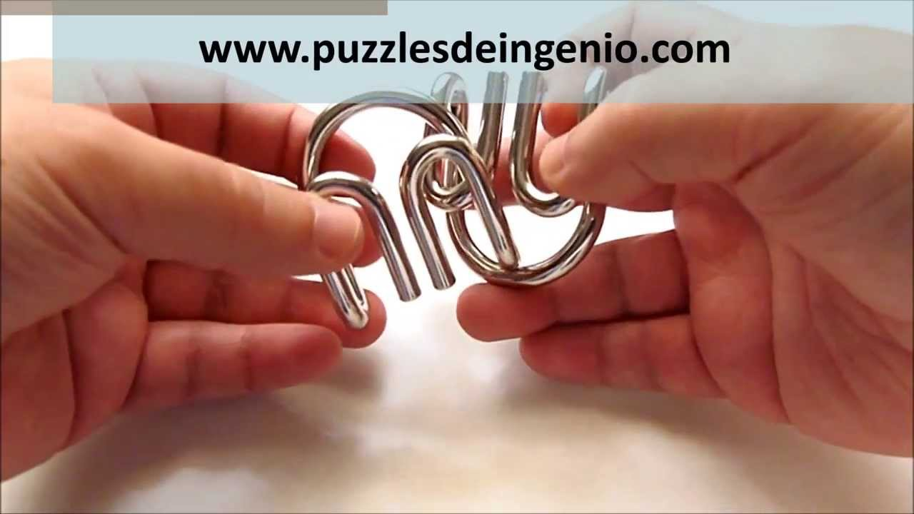 Video Solucion Rompecabezas Puzzle De Metal Hanayama Cast Devil
