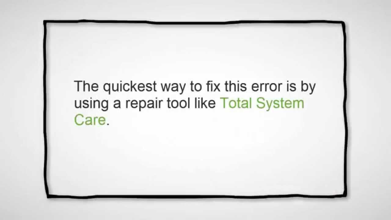 How to Resolve PC Regsvr32 exe Error Code