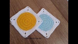 Bebek battaniyesi motif yapımı/Örgü modelleri