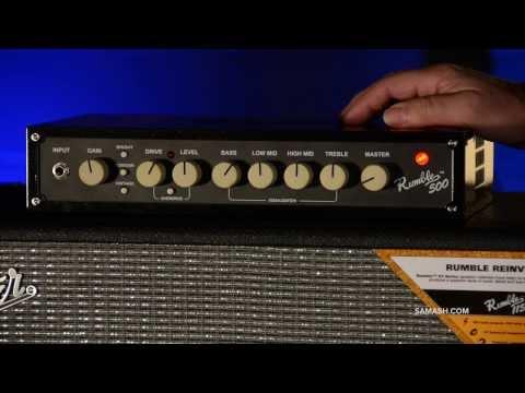Fender Rumble 500 Amp Head / 115 Bass Cabinet | Quicklook