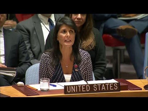 "Nikki Haley: ""North Korea has violated every single Security Council resolutions"""