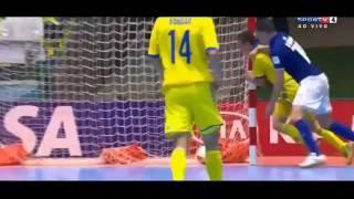 Gols Brasil 3 X 1 Ucrânia Mundial Fifa de Futsal 11/09/2016