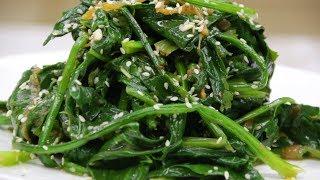 Как приготовить салат из шпината - Сиргумчи