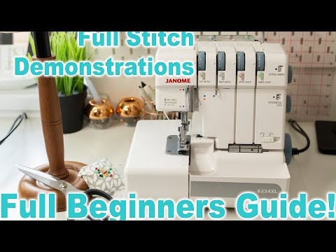 Overlockers For Beginners - Stitch Demonstrations U0026 Full Guide   Ryan Rix