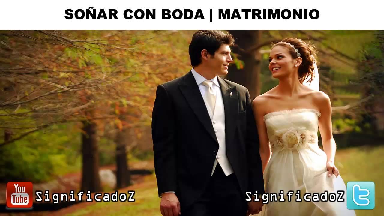 Sonar con boda pero sin vestido de novia
