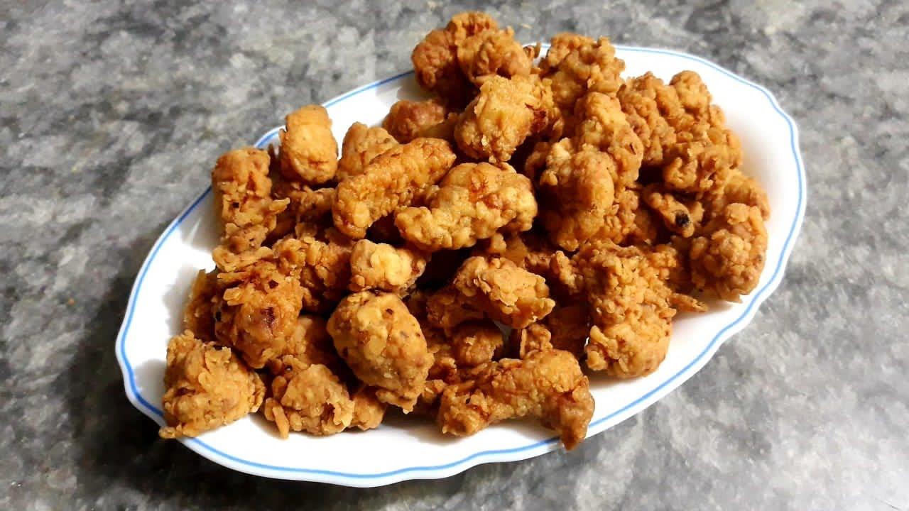 KFC Copycat Chicken Popcorn Recipe| How to Make Chicken Popcorn at Home| KFC Chicken Popcorn 🍿