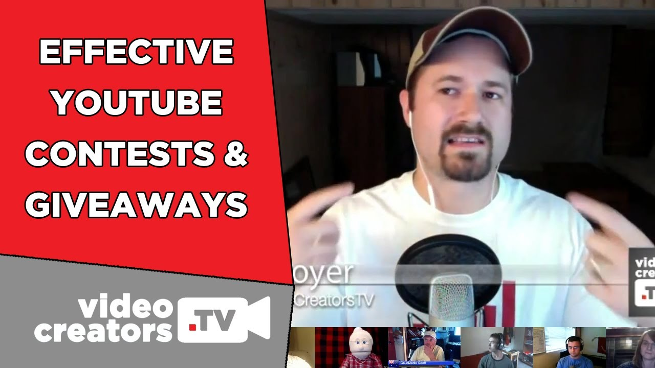 How To Do An Effective Youtube Giveaway Contest Youtube
