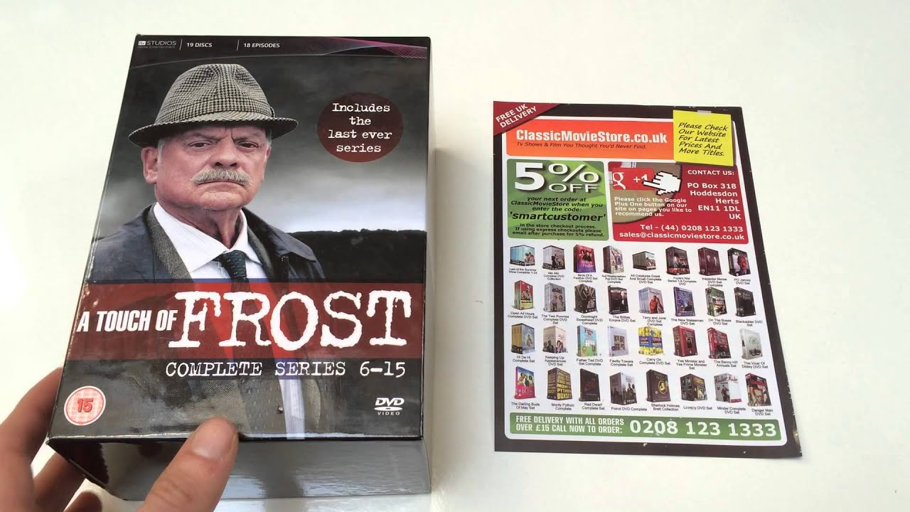 A Touch Of Frost Dvd Box Set Review Youtube