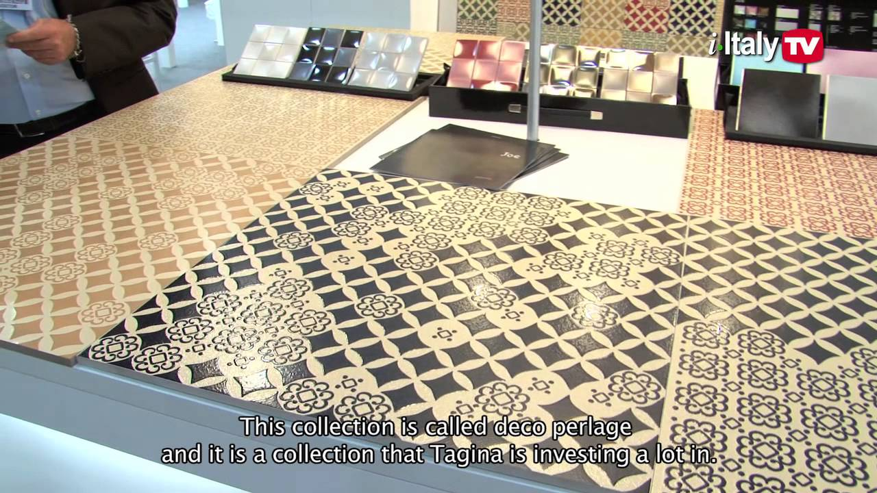 Ceramic Tiles of Italy at ICFF 2013 - YouTube