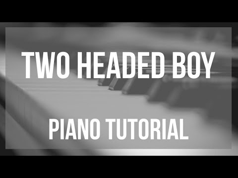 How to play Two Headed Boy by Neutral Milk Hotel on Piano (Tutorial)