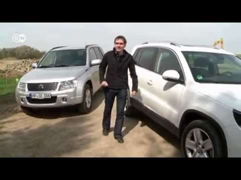 vw tiguan vs suzuki grand vitara motor mobil youtube. Black Bedroom Furniture Sets. Home Design Ideas