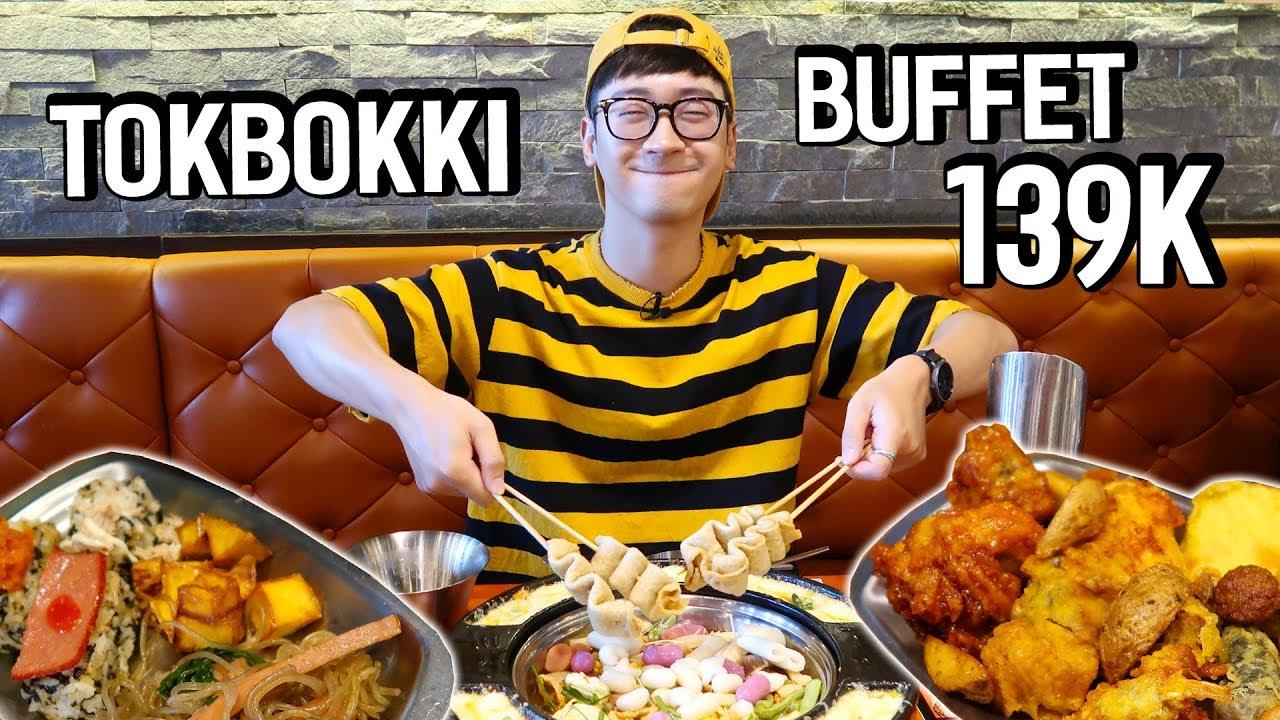 Cầm 139K đi ăn BUFFET LẨU DOOKKI TOKBOKKI siêu hot // SERIES NINH EATING ĂN GÌ #72