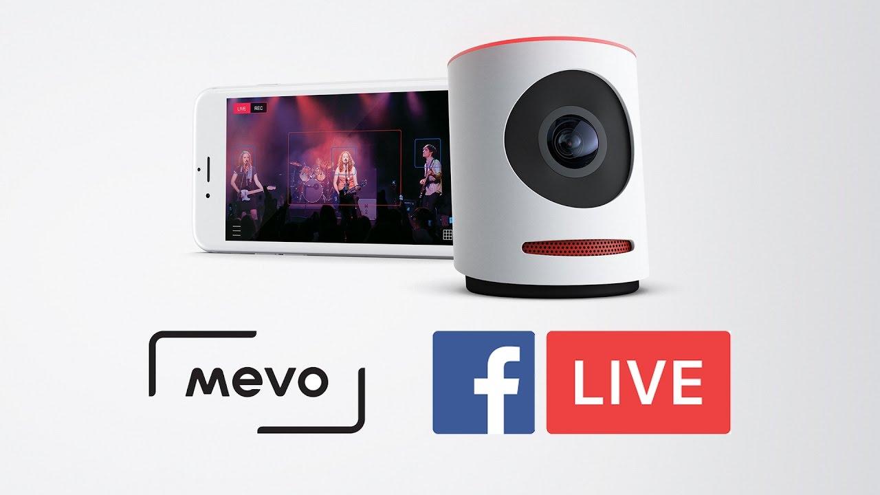 Mevo Camera to Facebook Live