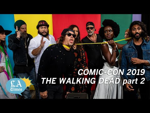 'The Walking Dead' Cast Talks Mind-blowing Moments At Comic Con