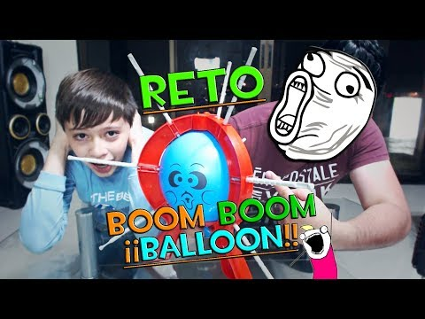 VA A EXPLOTAR!!    RETO: BOOM BOOM BALLOON   ALE GAMER