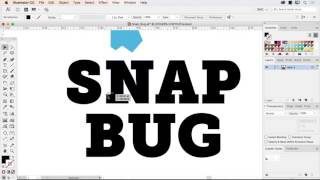 Snap Bug in Adobe Illustrator CC